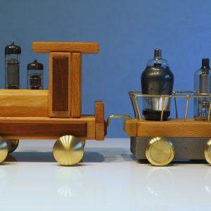 Holzmichel Lokomotive