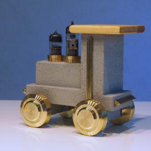 Grauer Panther Lokomotive